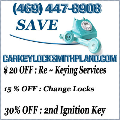Car Key Locksmith Plano Tx Emergency Lockout Services